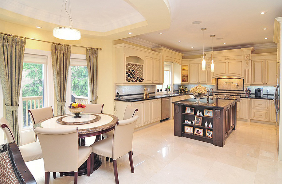 Classic kitchen design and renovation in richmond hill for Kitchen design richmond va