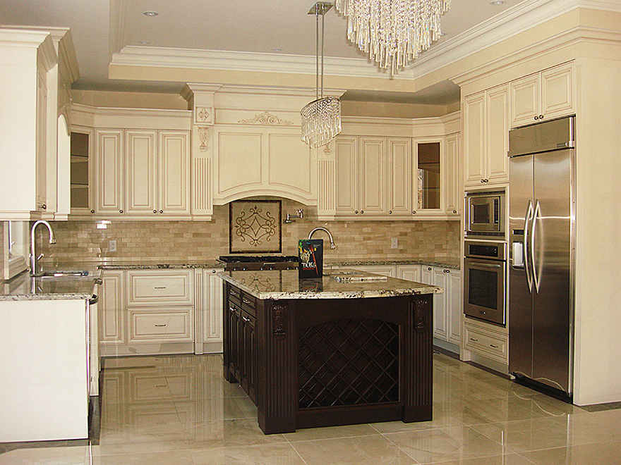 Classic kitchen design and renovation in richmond hill for Classic kitchen decor