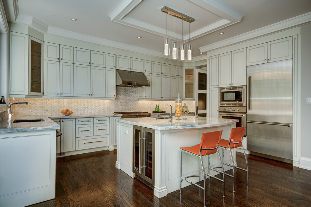Contemporary kitchen design and renovation in richmond hill for Kitchen design richmond va