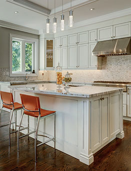 contemporary kitchen sidebar banner
