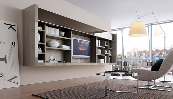 wall unit ideas for living room
