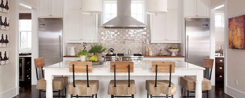 Sometimes Neutral Color is the Best Choice for cabinets and countertops
