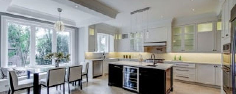 contemporary kitchen (Cabinet Styles 1)