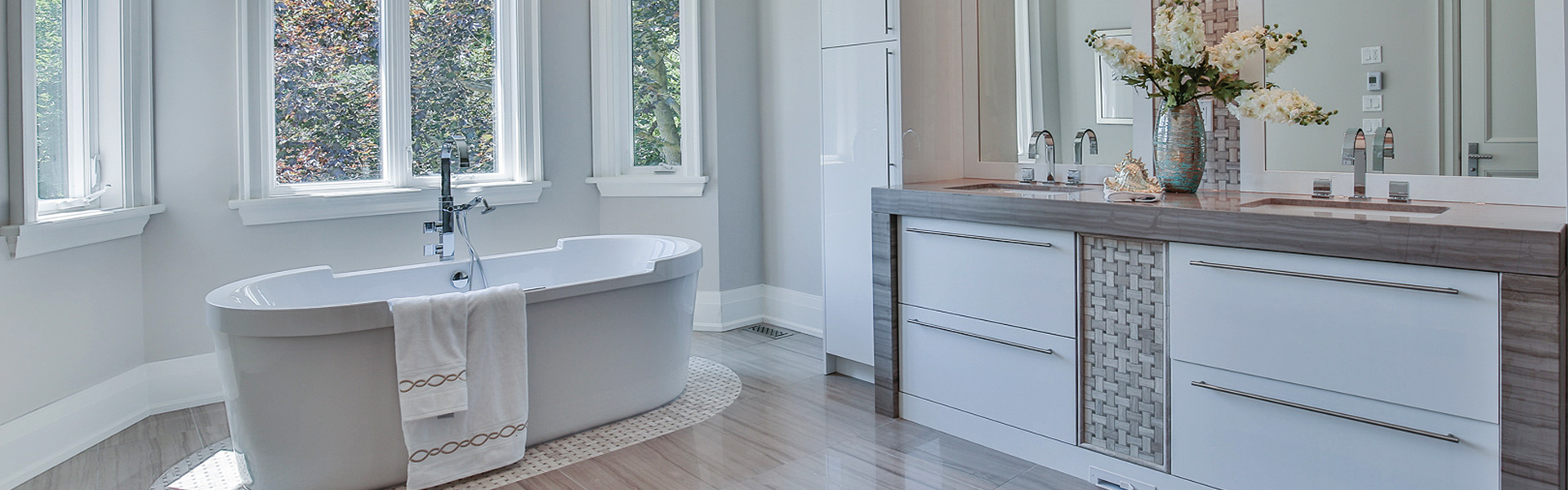 bathroom vanity slide